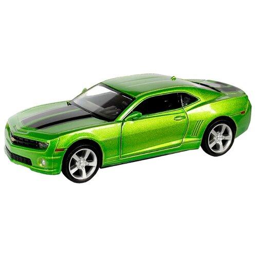 Купить Легковой автомобиль RMZ City Chevrolet Camaro (554005) 1:32 12.5 см зеленый, Машинки и техника