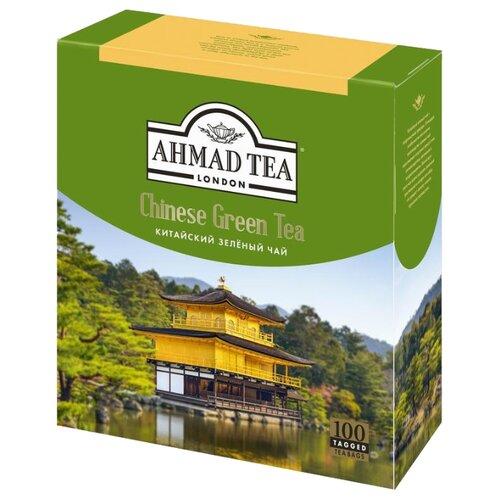 Фото - Чай зеленый Ahmad tea Chinese в пакетиках, 180 г, 100 шт. chinese ancient trees black tea leaves