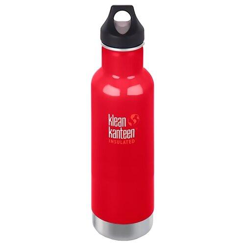 Термобутылка Klean Kanteen Classic Loop, 0.592 л mineral red