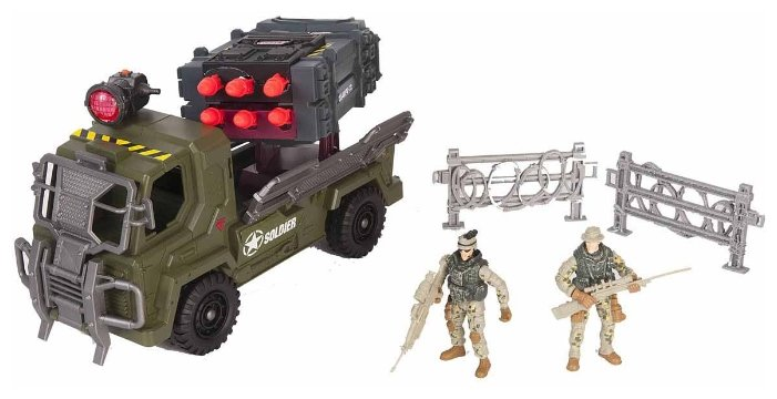 Игровой набор Chap Mei Soldier Force - Мобильный ракетный комплекс 521006