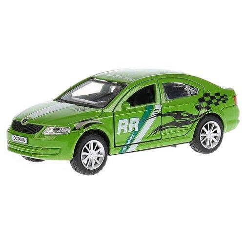 Легковой автомобиль ТЕХНОПАРК Skoda Octavia Спорт (OCTAVIA-S) 12 см зеленый, Машинки и техника  - купить со скидкой