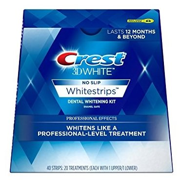 Crest отбеливающие полоски 3D White Professional Effects 40 шт