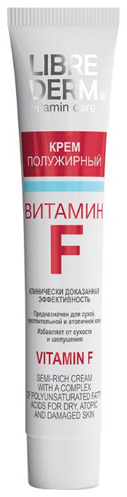 Librederm Vitamin F Cream Semi-Rich Крем для лица витамин F полужирный