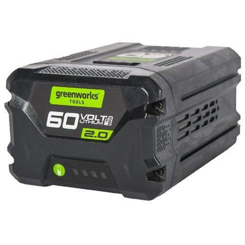 Фото - Аккумулятор greenworks G60B2 2918307 Li-Ion 60 В 2 А·ч аккумулятор greenworks g80b4 2901307