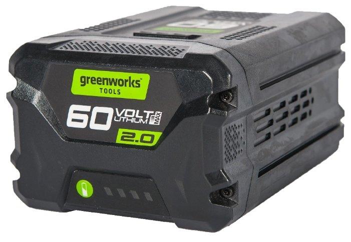 Аккумуляторный блок greenworks G60B2 60 60 В 2 А·ч