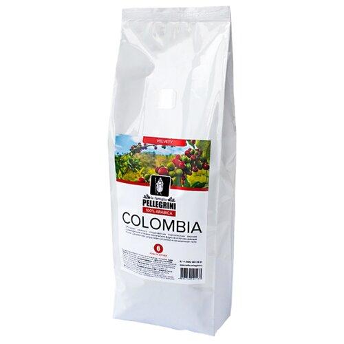 Кофе в зернах la famiglia Pellegrini COLOMBIA, арабика, 1 кгКофе в зернах<br>