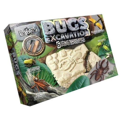 Купить Набор для раскопок Danko Toys Bugs Excavation Насекомые № 2, Наборы для исследований
