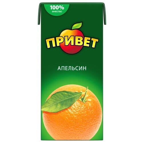 Напиток сокосодержащий Привет Апельсин, 0.95 л