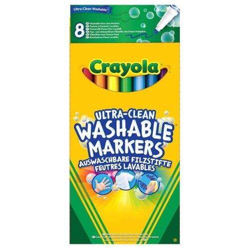 Купить Crayola Фломастеры смываемые 8 шт. (58-8330), Фломастеры и маркеры
