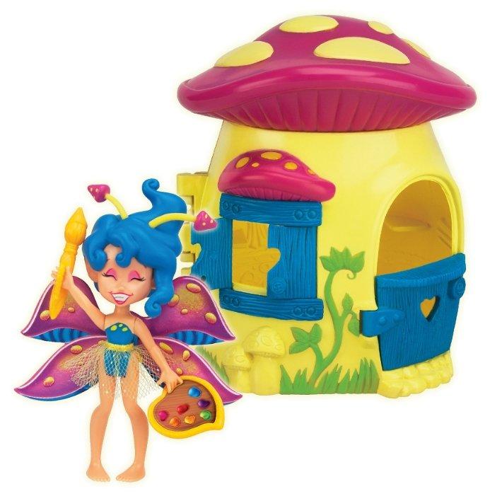 Игровой набор Brix'n Clix Фея Спора и лесной домик-гриб 84206