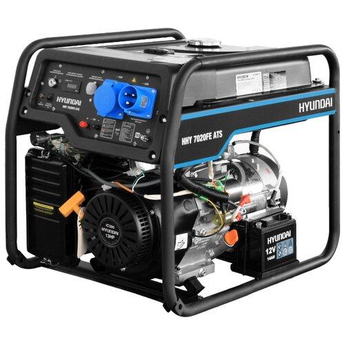 Бензиновый генератор Hyundai HHY 7020FE ATS (5000 Вт) бензиновый генератор hyundai hhy 7020fe 5000 вт