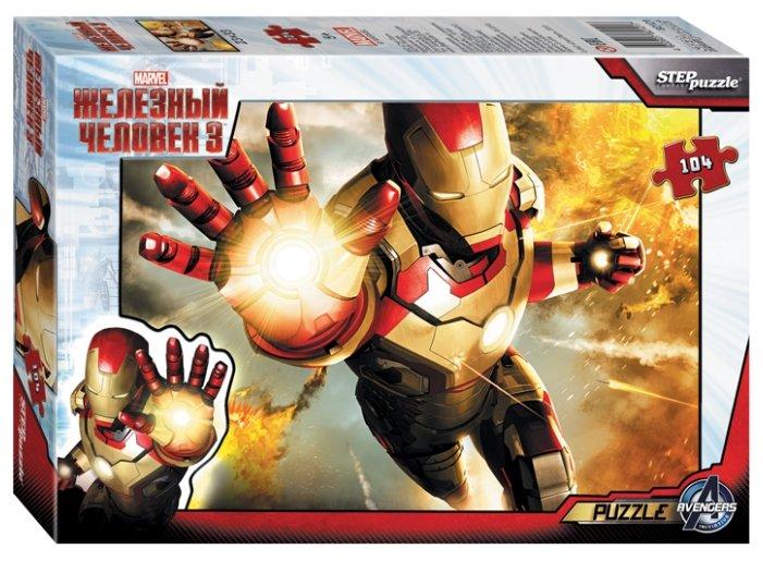 Пазл Step puzzle Marvel Железный человек (82121), 104 дет.