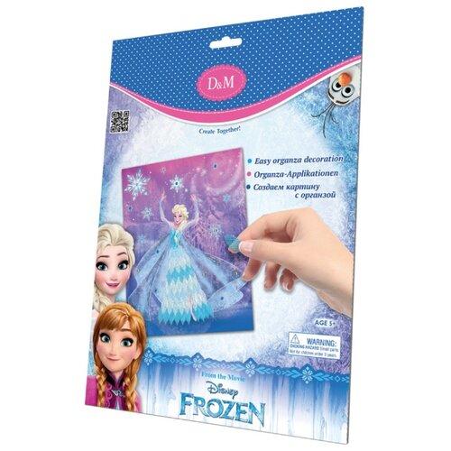 Купить D&M Набор для творчества Эльза Frozen с органзой (65109), Поделки и аппликации