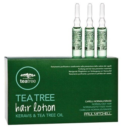 Paul Mitchell Tea Tree Special Регенерирующие ампулы для волос и кожи головы против выпадения