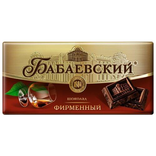 Шоколад Бабаевский Фирменный темный, 100 г