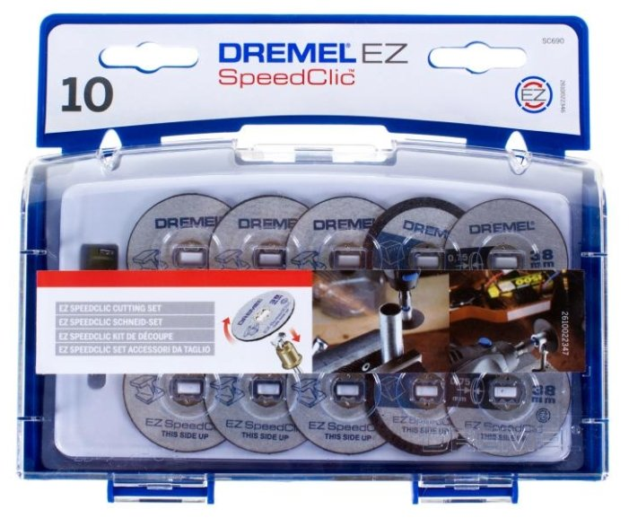 Набор насадок Dremel SC690 10 шт.