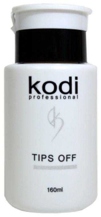 Kodi Tips Off Жидкость для снятия гель-лака, 160 мл