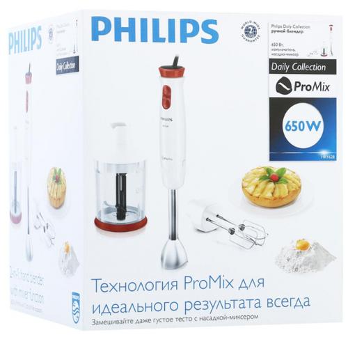 купить погружной блендер Philips Hr1628 Daily Collection по выгодной