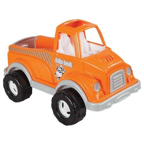 Купить Грузовик pilsan Delta (06-506) 60 см оранжевый, Машинки и техника