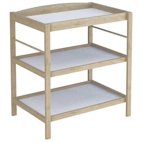 Пеленальный столик Polini Simple 1080 натуральный комоды polini simple nordic пеленальный