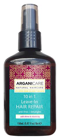 ARGANICARE Argan Oil & Shea Butter Средство для восстановления волос 10 в 1 с маслом дерева Ши