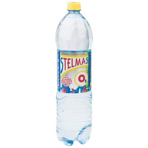 Вода питьевая Stelmas O2 негазированная, ПЭТ, 1.5 лВода<br>