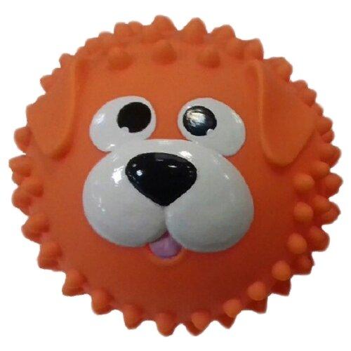Купить Мяч ЯиГрушка Собачка, 8.5 см, оранжевый, Мячи и прыгуны