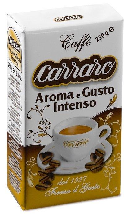 Кофе молотый Carraro Aroma&Gusto