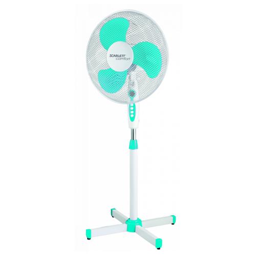 Напольный вентилятор Scarlett SC-SF111B12 белый напольный вентилятор rix rsf 4002 белый