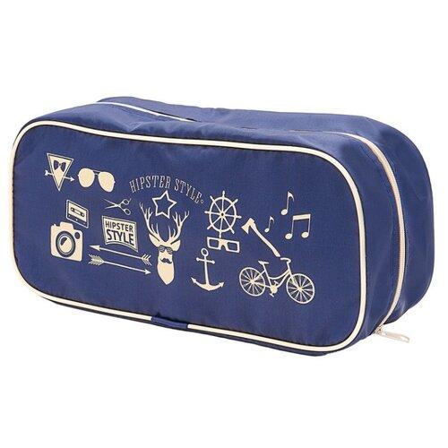 HOMSU Органайзер для обуви Hipster Style Premium синий органайзер для хранения обуви hipster style 6 секций 66 х 63 х 11 см