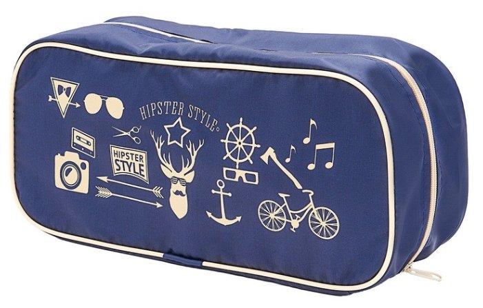 HOMSU Органайзер для обуви Hipster Style Premium синий/бежевый