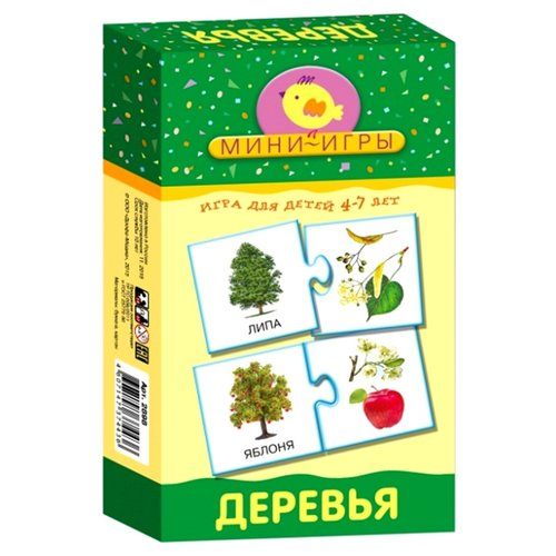 Купить Настольная игра Дрофа-Медиа МИ. Деревья, Настольные игры