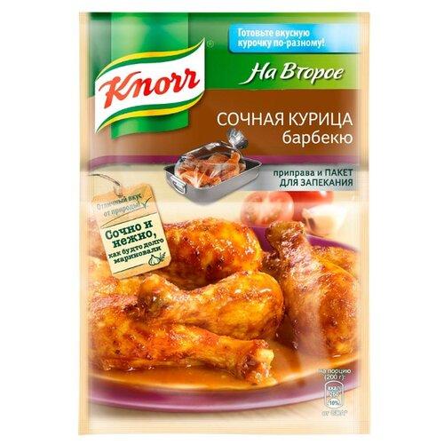 Knorr Приправа Сочная курица барбекю, 26 гСпеции, приправы и пряности<br>