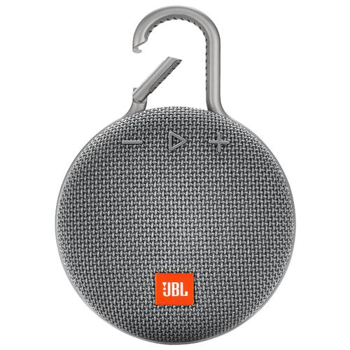 Портативная акустика JBL CLIP 3 stone gray портативная акустика jbl clip 2 черный jblclip2blk