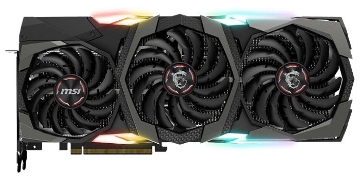 MSI Видеокарта MSI GeForce RTX 2080 Ti 1350MHz PCI-E 3.0 11264MB 14000MHz 352 bit HDMI HDCP GAMING X TRIO
