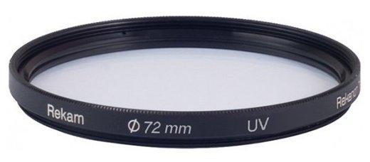 Светофильтр ультрафиолетовый Rekam UV 72 мм