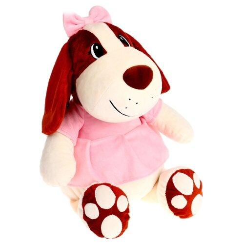 Мягкая игрушка СмолТойс Собачка Сонечка 47 см