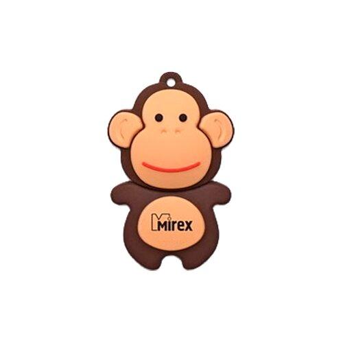 Флешка Mirex MONKEY 4 GB коричневый