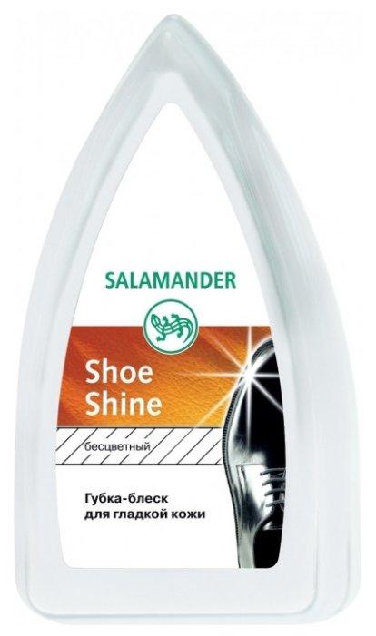 Salamander Shoe Shine губка-блеск для изделий из гладкой кожи бесцветный