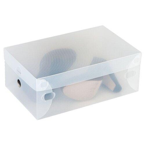 Tatkraft Набор коробок для хранения обуви Glasgow прозрачный