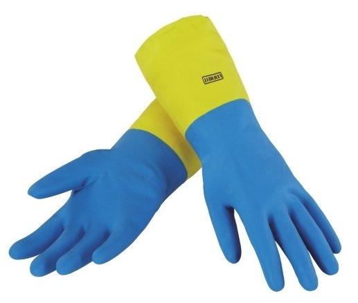 Перчатки хозяйственные HomeQueen, размер L, латексные - Элис