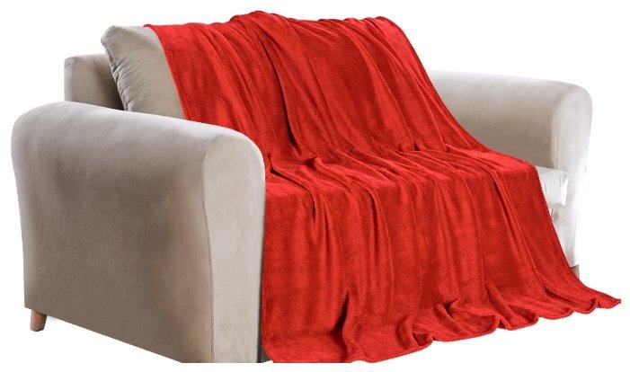 Покрывало Guten Morgen фланель Красный, 150 х 200 см