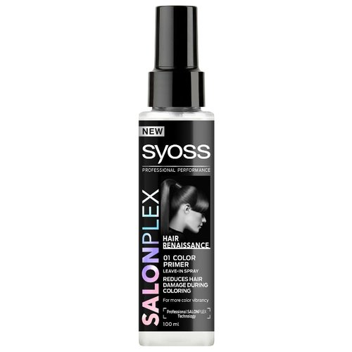 Syoss SALONPLEX Праймер для защиты волос во время окрашивания, 100 млМаски и сыворотки<br>