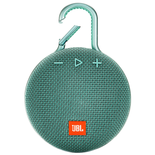 Портативная акустика JBL CLIP 3 river teal портативная акустика jbl clip 2 черный jblclip2blk
