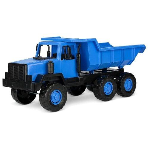 Купить Грузовик Росигрушка Полярный самосвал (9290) 47 см синий, Машинки и техника