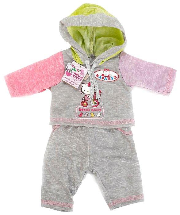 Карапуз Комплект одежды Hello Kitty для кукол 40 - 42 см B1430940