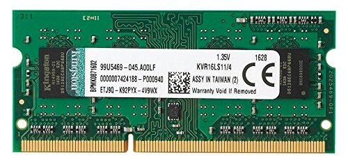 Модуль памяти Kingston DDR3L SO-DIMM 1600MHz PC3-12800 CL11 - 4Gb KVR16LS11/4
