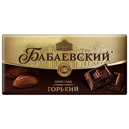 Шоколад Бабаевский горький, 58,5% какао, 100 г шоколад cachet bio organic элитный бельгийский горький 85% какао танзания 100 г