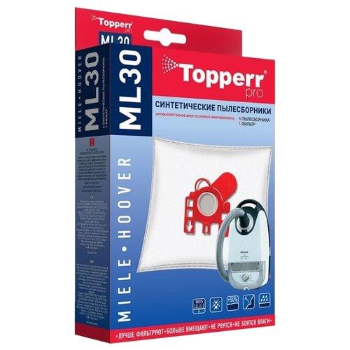 Topperr Синтетические пылесборники ML30 4 шт. недорого