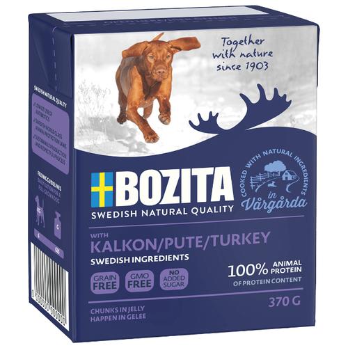 Влажный корм для собак Bozita индейка 370г